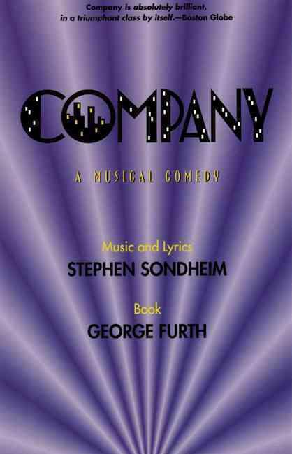 Company By Sondheim, Stephen/ Furth, George